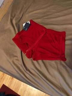 Aritzia: Red Wilfred Shorts