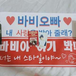 iKON Bobby Slogan Set