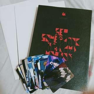 EXO LAY YIXING Set Something In Motion Korea Fansite Photobook Set