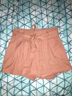 Tie up shorts