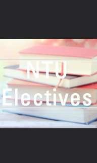 🚚 NTU electives Best Resources! Get A!
