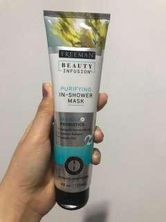 """New - Original Freeman Beauty Infusion """"Purifying in shower mask"""" [SHARE IN JAR]"""