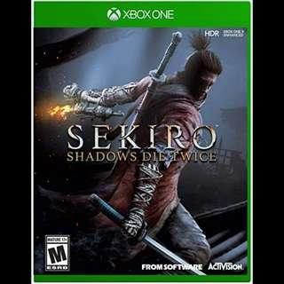Xbox One Sekiro Digital Download Game Code