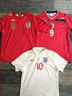 England Rooney Jersey