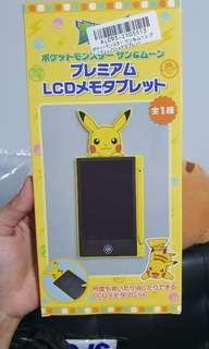 Pokemon pikachu tablet memo