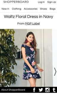 MGP Floral Dress off shoulder