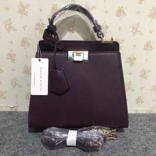 Charles n keith push n lock original