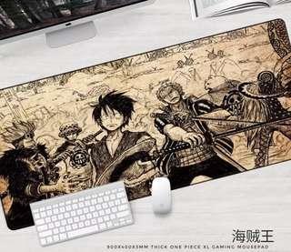 900x400x3mm XL Gaming Mousepad One Piece Theme