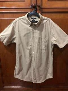 UNIQLO Brown Short Sleeve Polo
