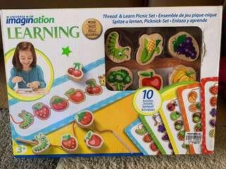 Imagination Thread and Learn Picnic Set