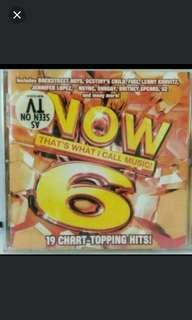 NOW.6,正版英文CD