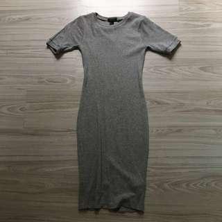 Forever 21 elastics dress