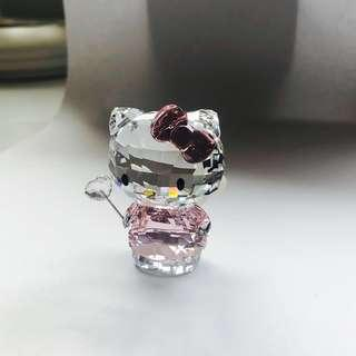 SWAROVSKI Hello Kitty Angel Crystal Character [NEW! NEVER BEEN DISPLAYED]