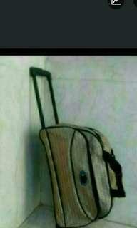 全新拉杆两轆,手提旅行袋