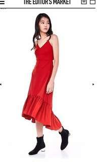 TEM Charlotte Midi Dress(YELLOW)