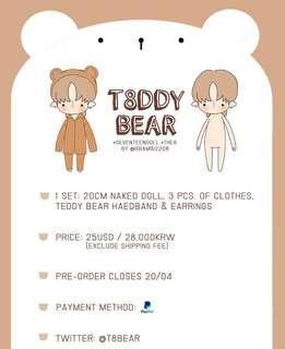 [SG GO] Seventeen The8 T8DDYBEAR doll