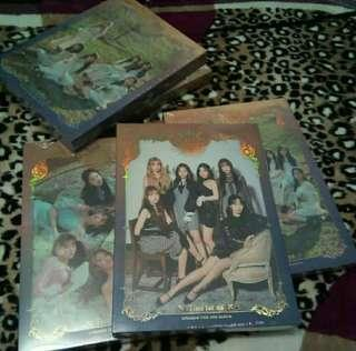 [READYSTOCK]GFRIEND - TIME FOR US ALBUM