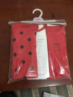 Mothercare body suits