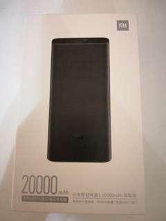 Xiaomi mi3 20000mah powerbank usb c 45w qc3.0 (sealed)