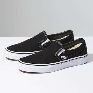 🚚 Vans slipon black