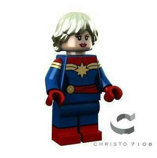Custom Captain Marvel Minifigures by Christo 7108