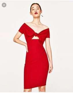 Zara Red dress