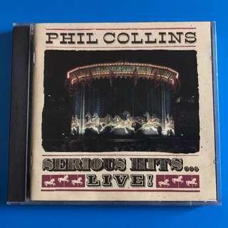 Phil Collins cd 舊版 1990年