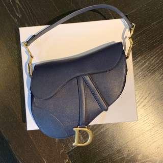 Dior Saddle Bag in Navy