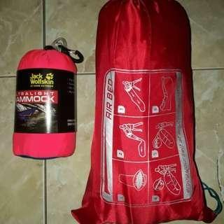 Paket Hammock + Lazybag