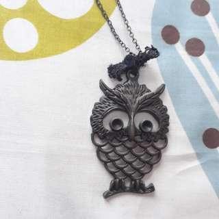 Kalung Owl + Kalung Pita + Kalung Kaset