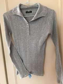 🚚 灰色針織衣#半價衣服市集