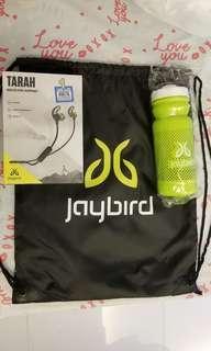 全新 Jaybird 無線藍牙耳機,水樽,鞋袋
