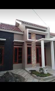 Rumah baru bebas banjir. Di kota depok