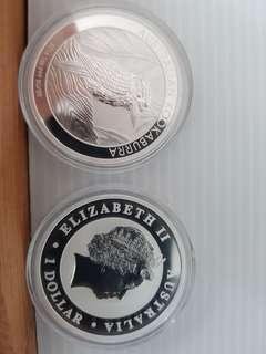 Silver coin 2014 kookaburra
