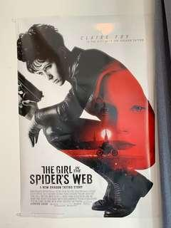 The Girl In The Spider's Web Movie Limited Edition Poster