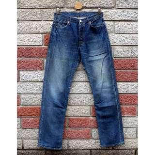 🚚 Levis 501 二手牛仔褲- 正品 -(LEVIS 04501-0196)-W31 L34