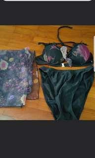Bikini swim wear suit