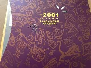 🚚 Singapore The 2001 Collection of Singapore Stamps