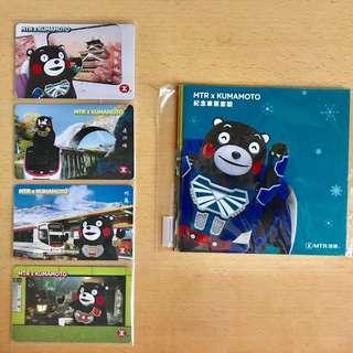 【全新未拆包裝】MTR x Kumamoto熊本熊主題車票