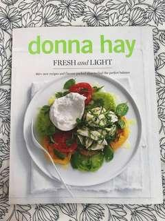 Donna Hay Light and Fresh cookbook