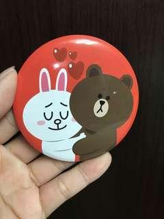 🚚 兔兔熊大隨身鏡