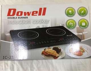 Dowell Double Burner IC-21