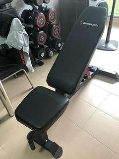 Gymsportz workout bench
