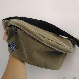 LARRIE Sling Bag, GREEN
