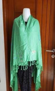 Kain Bali Green Colour