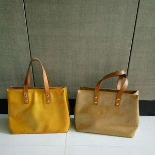 LV vernis small tote bag