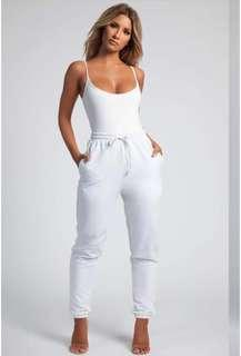 Meshki | White Bodysuit