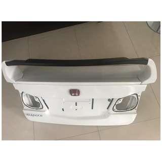 Honda Civic FD2 Trunk + Mugen Spoiler
