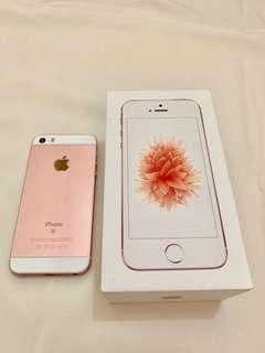 iphone se rosegold 16gb