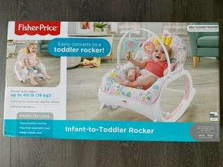 🚚 Fisher Price Rocker (Brand new)